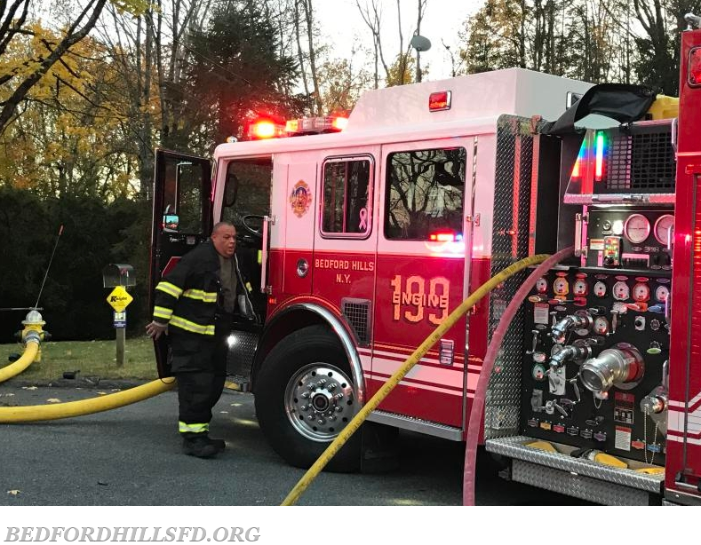 Working Fire In The First Due Bedford Hills Fire Department