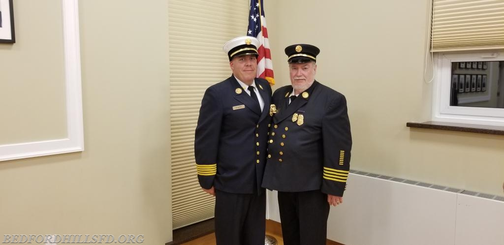 DC Brian McGill and his Father Ex-Asst. Chief Sandy McGill.