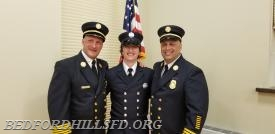 Ex Chief Joseph Liburdi, FF Joseph Liburdi Jr and Ex Chief David Liburdi