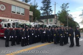 The Officers and Membership of the Bedford Hills Fire Department
