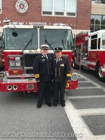 Chief Jason Nickson and Ex Chief William Nickson