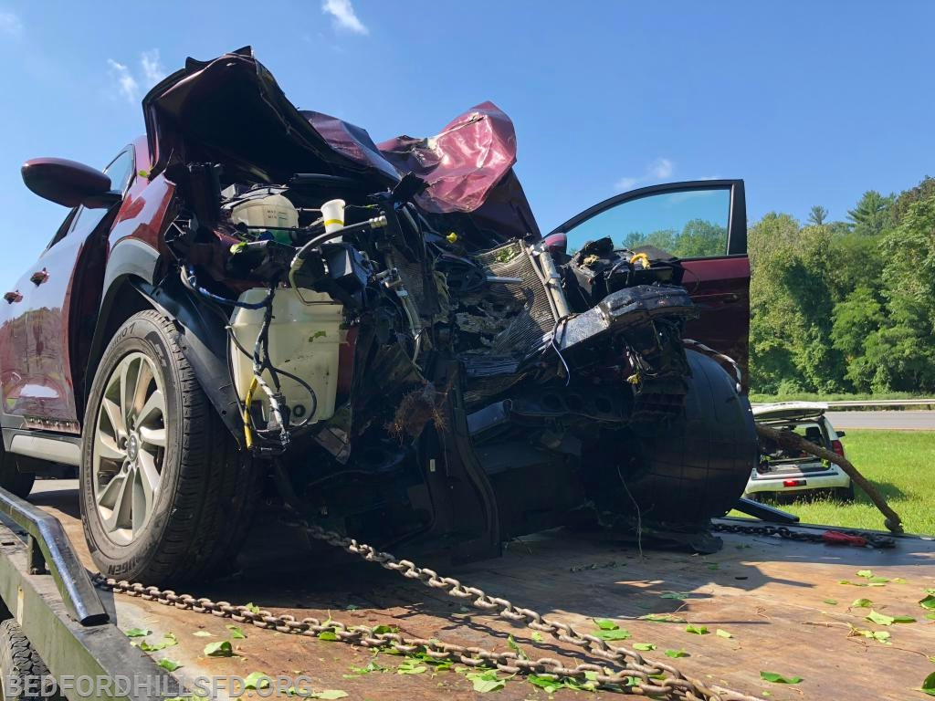 Labor Day Motor Vehicle Accident - Bedford Hills Fire Department